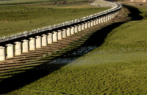 Tibet Rail bridge, Tibet Train Travel